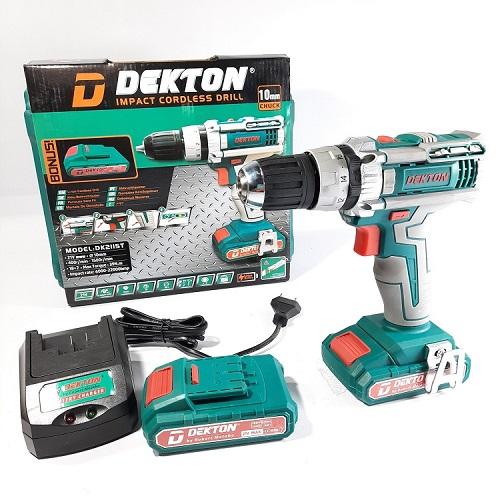 Máy Khoan Pin Dekton Dk 2115T