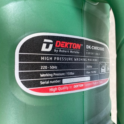 Máy Rửa Xe Dekton DK-CWR2600