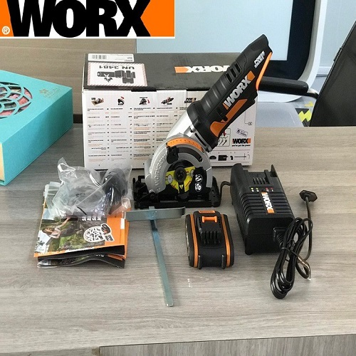 Máy cưa đĩa pin Worx WX527