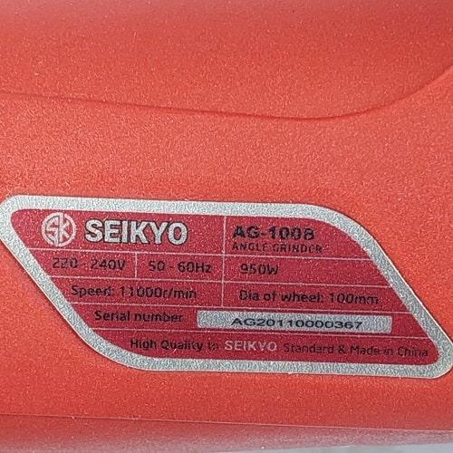 Máy Mài Góc Seikyo AG-100B 950W