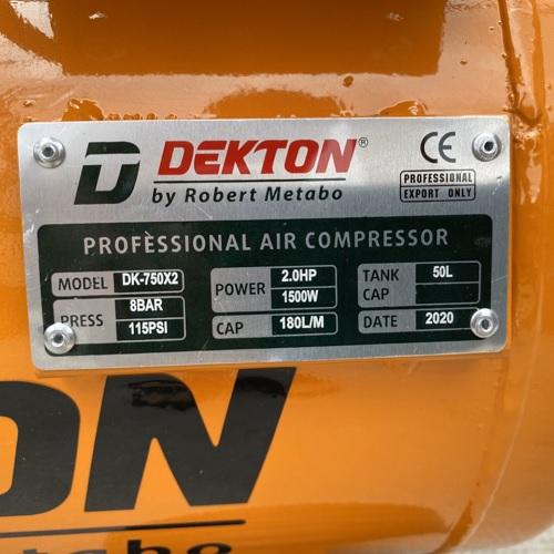 Máy Nén Khí Không Dầu Dekton DK-750x2