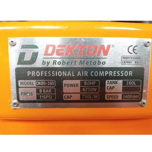 Máy nén khí không dầu Dekton DK89-160
