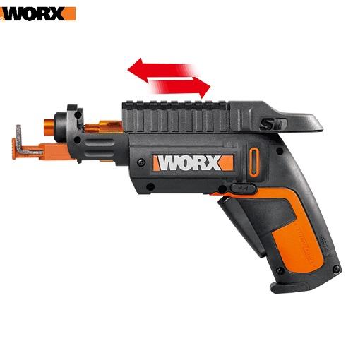 Máy Vặn Vít Pin Worx WX255 Li-ion 4V