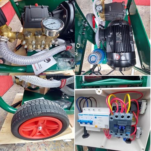 Máy Rửa Xe Công Nghiệp Dekton DK-HPW5500