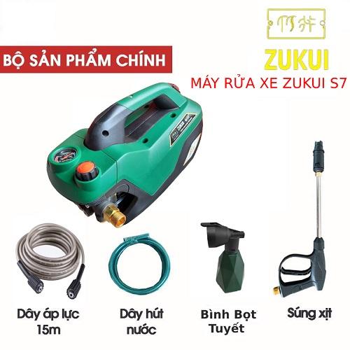 Máy Rửa Xe Chỉnh Áp Zukui S7 2800W