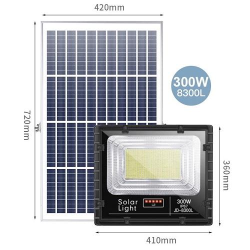 Đèn Năng Lượng Mặt Trời JD-8300L