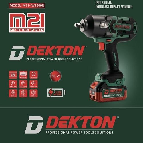 Máy Siết Bulong Pin Dekton M21 IW1200N