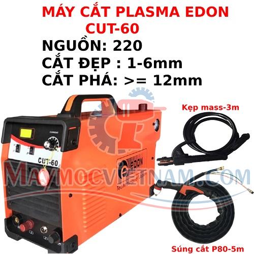 Máy Cắt Plasma Edon CUT 60 380V