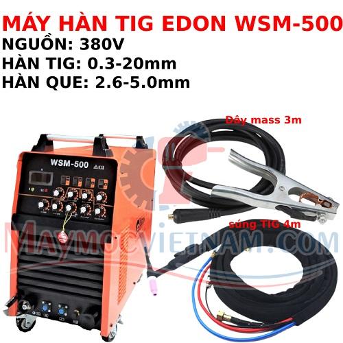 Máy hàn TIG Edon WSM 500 ACDC