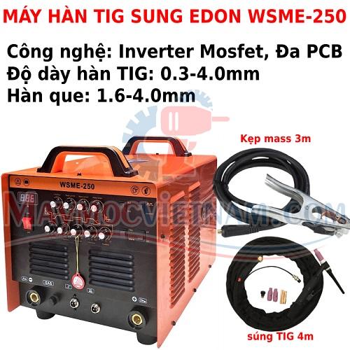 Máy Hàn TIG Nhôm Edon WSME 250