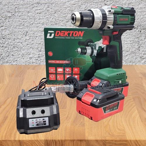 Máy khoan pin Dekton DK-ID2140MKT