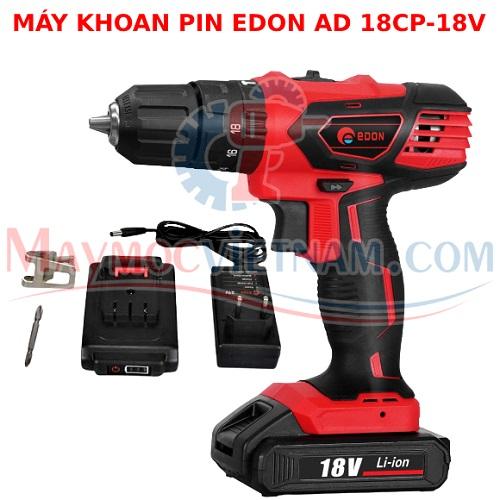 Máy khoan pin EDON AD 18CP-18V