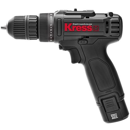 Máy Khoan Vặn Vít Dùng Pin Li-ion 12V 10mm Kress KU200