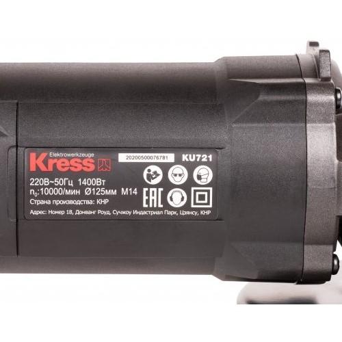 Máy Mài Góc Kress KU721 125mm 1400W