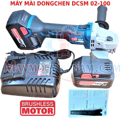 Máy Mài Góc Pin Dongcheng DCSM 02-100