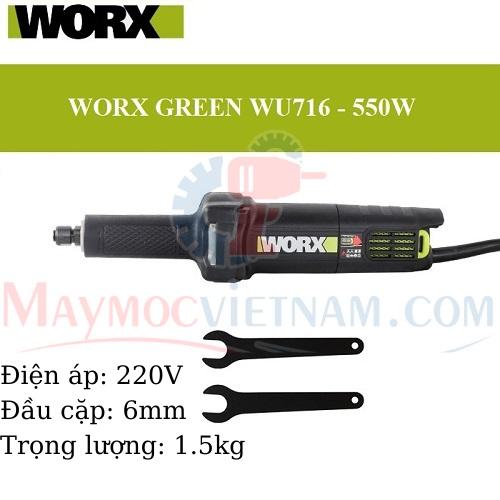 Máy Mài Thẳng Worx WU716 550W