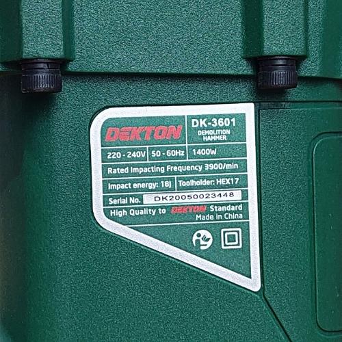 Máy đục bê tông Dekton DK-3601