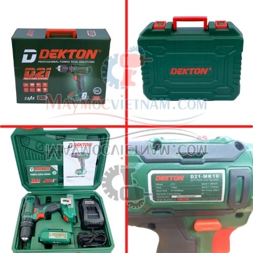Máy Khoan Búa Pin Dekton D21-MK10