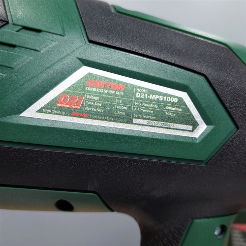 Máy phun sơn dùng pin Dekton D21-MPS1000