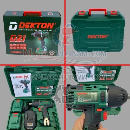 Máy siết bulong pin Dekton D21-550BL