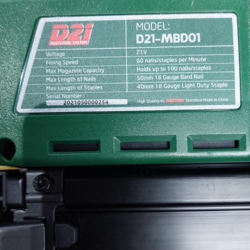 Súng Bắn Đinh Dùng Pin Dekton D21-MBD01