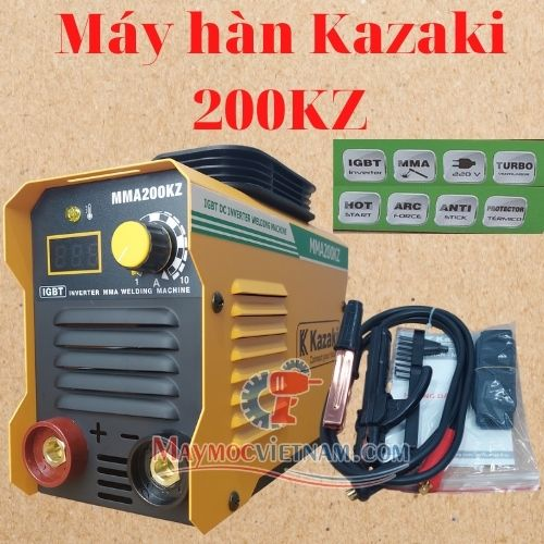 Máy hàn que KAZAKI MMA 200KZ